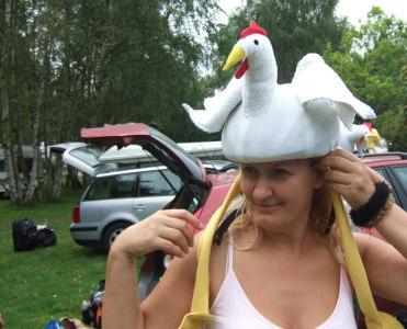 Das Gaga-Huhn